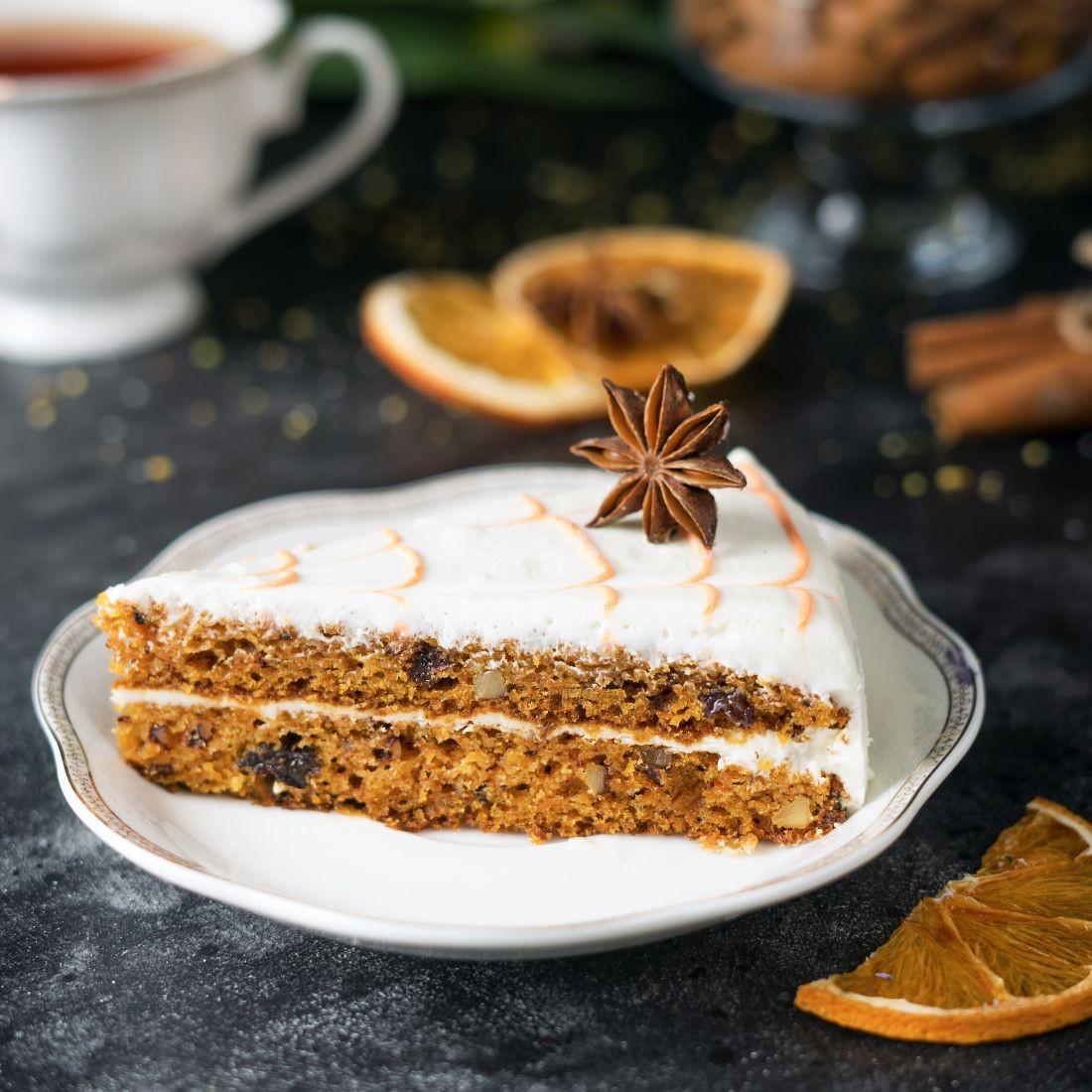 Торт морковный (Эко-Франс)