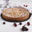 Пирог премиальный вишневый с масляной крошкой