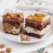 Пирожное карамельно-ореховое