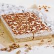 Пирожные со сливочным муссом и грецким орехом