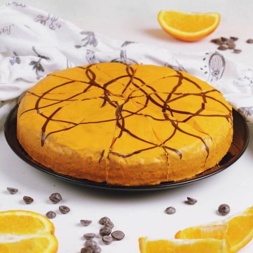Торт шоколадно-апельсиновый